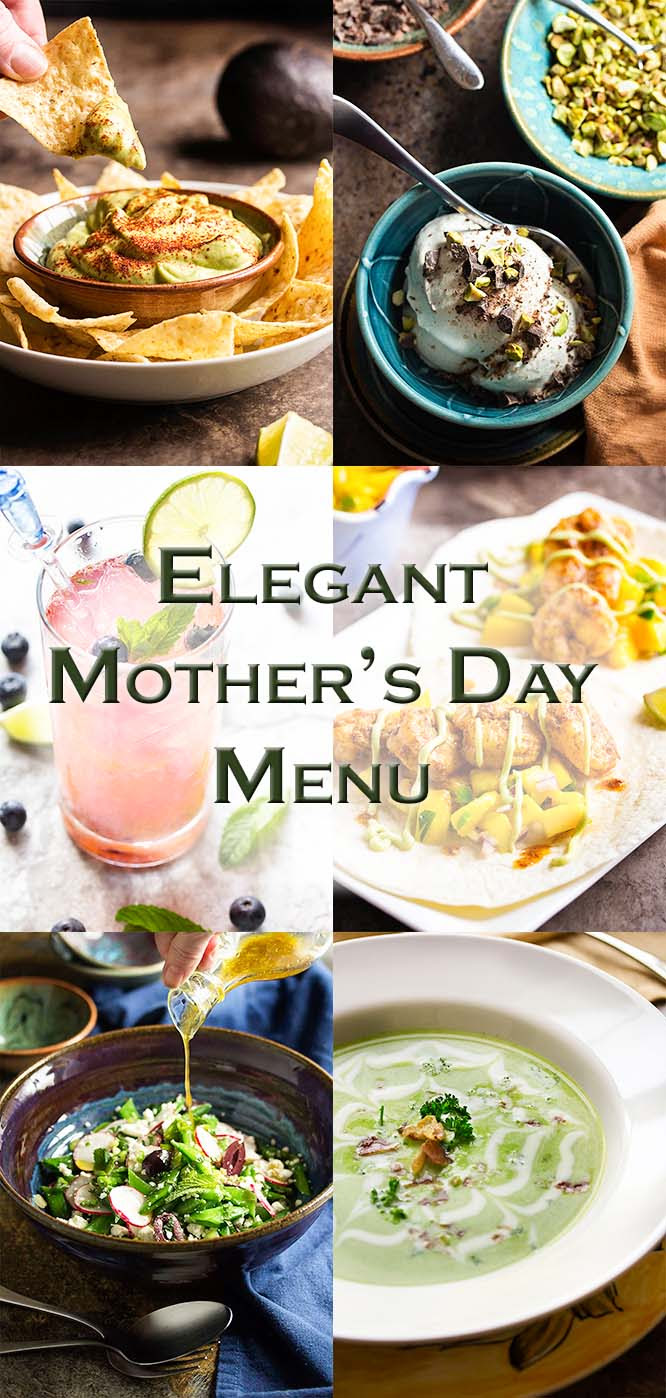 Elegant Mothers Day Lunch Menu Just A Little Bit Of Bacon
