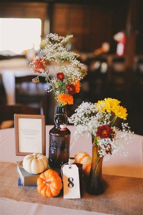 17 Best ideas about Fall Table Centerpieces on Pinterest