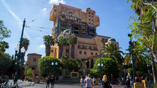 Disneyland Resort, Disney California Adventure, Twilight Zone, Tower of Terror