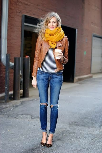 Easy, but chic for the weekend