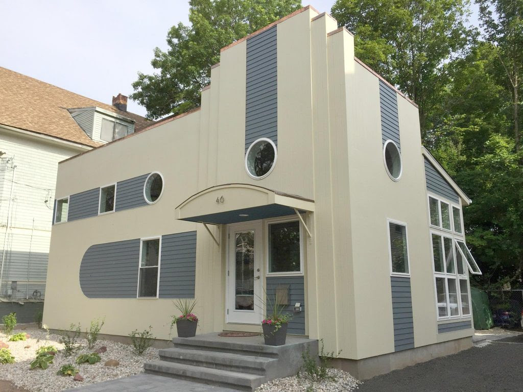 Art Deco Tiny House in New Haven, Connecticut | Ann Nyberg ...