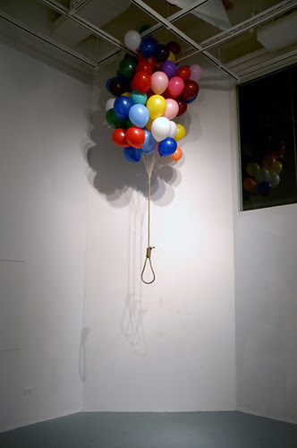 Untitled          70 X 70 X 100 (inch)          Balloon, Rope. by Function2.com