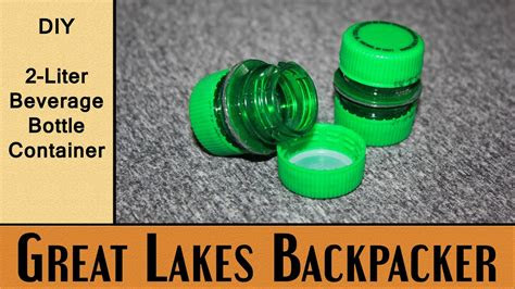 diy project  liter beverage bottle container youtube