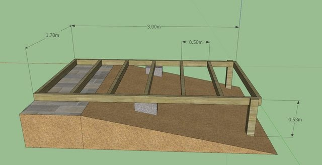 Build A Raised Shed Base Tuff Shed At Home Depot
