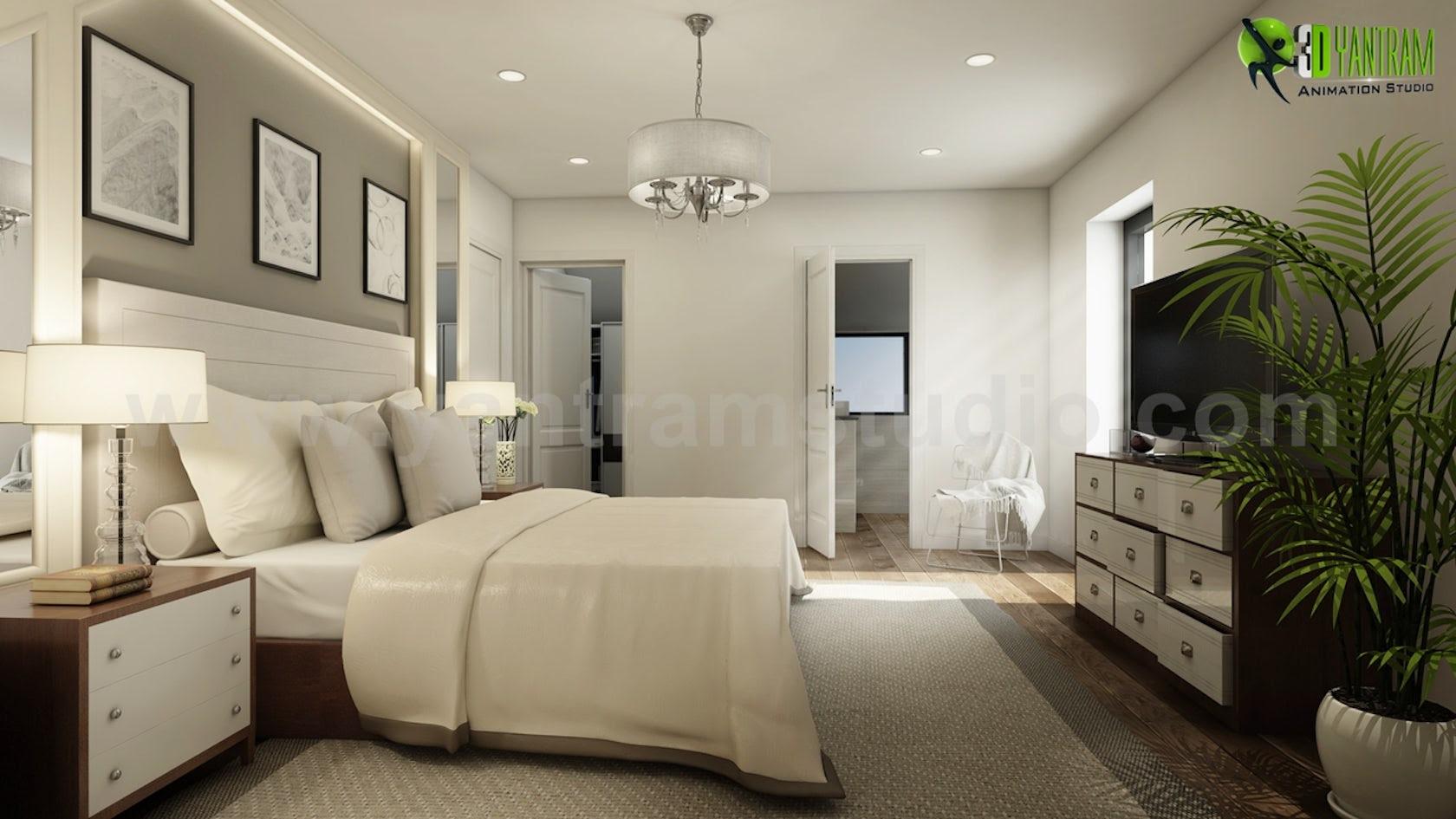 Modern Master Bedroom Ideas Developed By Yantram interior ...