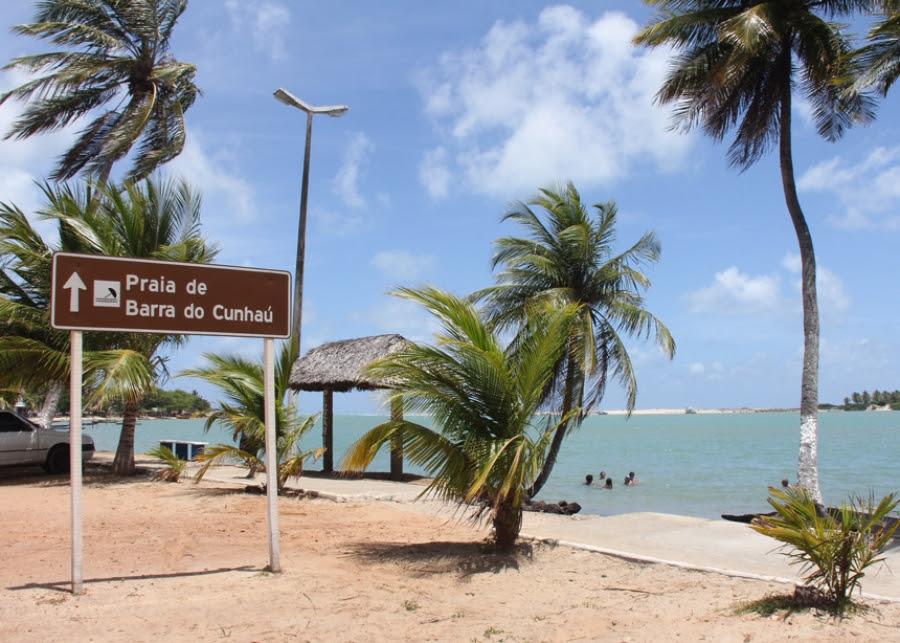 Resultado de imagem para estrada Praia de Barra de Cunhaú