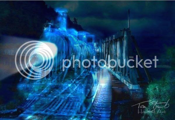 Ghost Train by Tom Straub