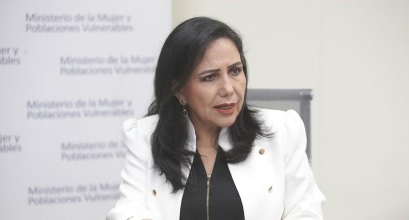 Ministra de la Mujer lo dice sin titubear: el Perú es un país de violadores