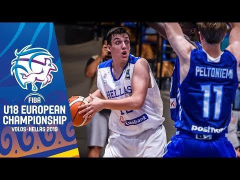 Ελλάδα-Φινλανδία για το Ευρωπαϊκό Εφήβων, ζωντανά στις 21:15 από το Βόλο