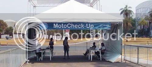 Entrada do MotoCheck-Up em Brasília