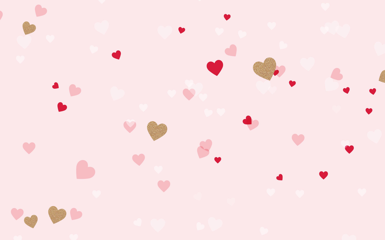 ピンク ハート ピンク可愛いガーリー壁紙 ピンク色 お洒落