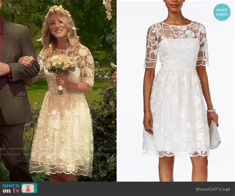 WornOnTV: Penny?s wedding dress on The Big Bang Theory