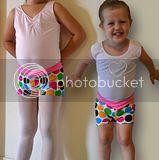 free jazz shorts pattern
