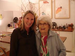 Suzy Bucholz and Frances Galli