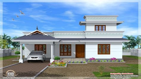 kerala single floor house designs normal house  kerala