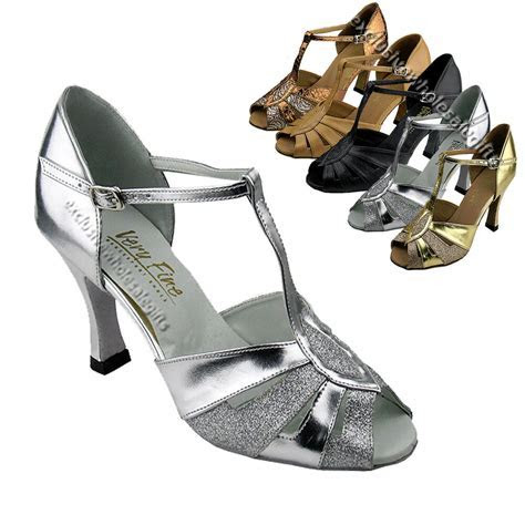 Women's Salsa Ballroom Tango Latin Wedding Dance Shoes 2.5