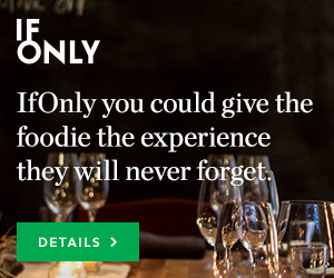 If Only You Could Give the Foodie the Experience They Will Never Forget. Show Now!