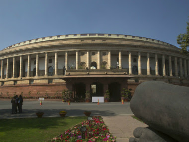 File image of the Parliament of India. AP
