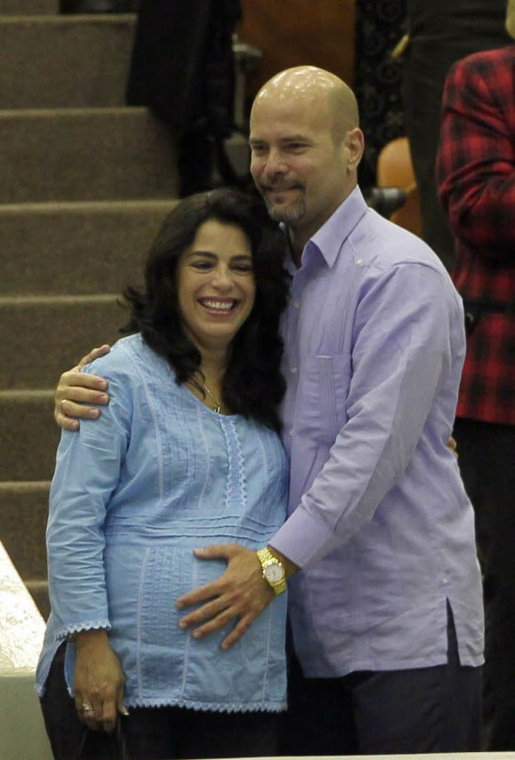 Adriana y Gerardo. Foto: Ismael Francisco/Cubadebate.