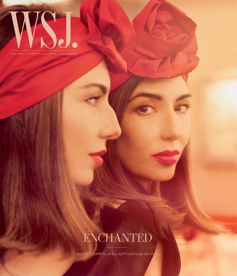 Sofia Coppola on WSJ. Magazine June/July 2017 Cover