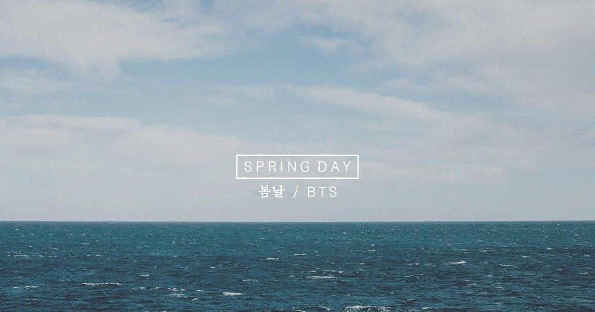 Best Of Aesthetic Bts Spring Day Wallpaper Desktop Hd Wallpaper