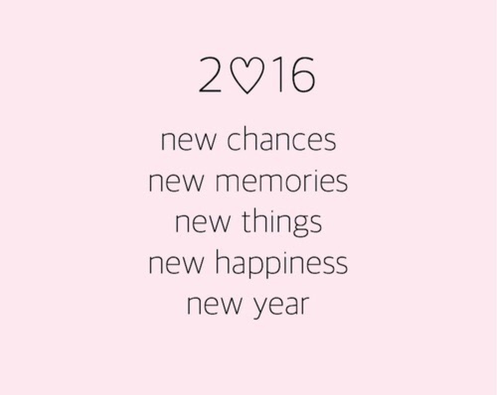 I hope 2016 is good to you🍸🌸💅🏽