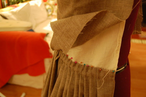 Making a robe a l'anglaise 23