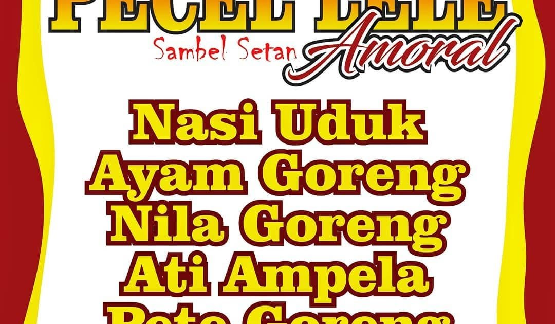 Spanduk Pecel Lele Lamongan - Master Books