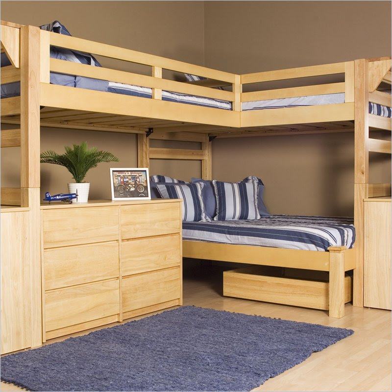 2×4 Bunk Bed Plans  BED PLANS DIY  BLUEPRINTS