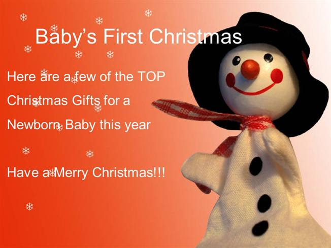 Christmas Gift Ideas For Babys First Christmas Authorstream
