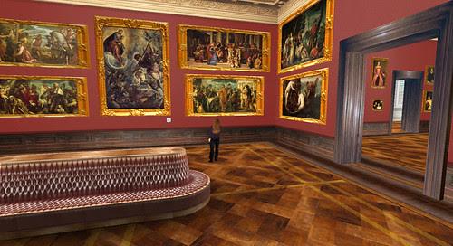 Exploring Art in Second Life
