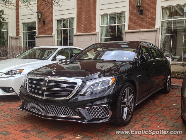 Mercedes S65 AMG spotted in Columbus, Ohio on 03/21/2015