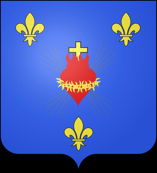 Fichier:Blason Famille Naundorff-de Bourbon sacre-coeur.svg