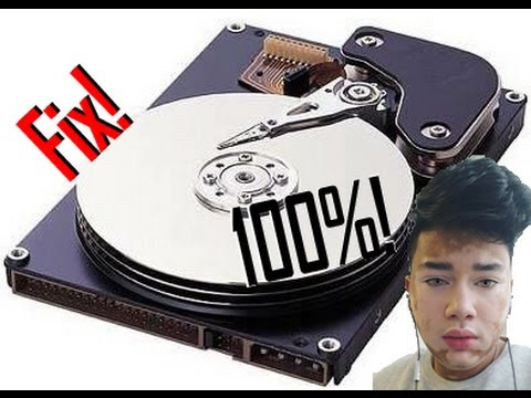how to fix hard disk 100 usage