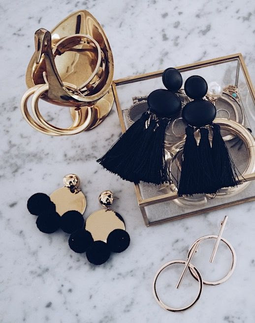 Le Fashion Blog 12 Pairs Of Statement Earrings To Buy Now Via Ashley Ring My Bell