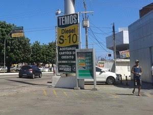 Postos de combustíveis serão fiscalizados nesta semana (Foto: Fernanda Zauli/G1)