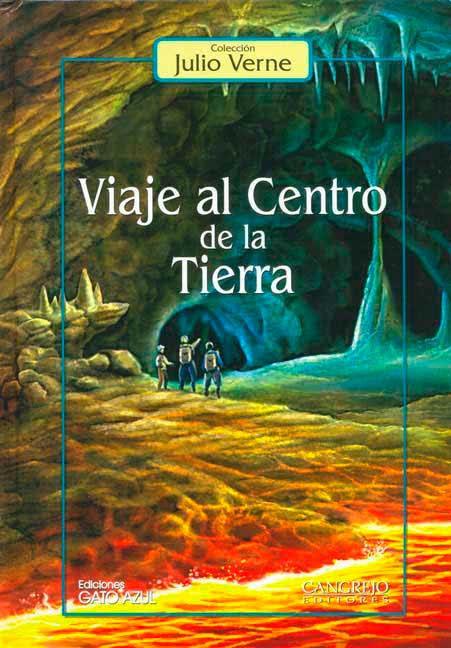 Resultado de imagen de viaje al centro de la tierra libro