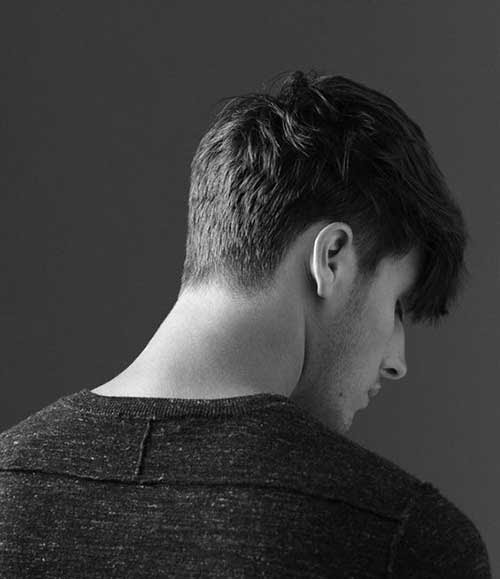 Back View of Short Haircuts for Men | The Best Mens ...