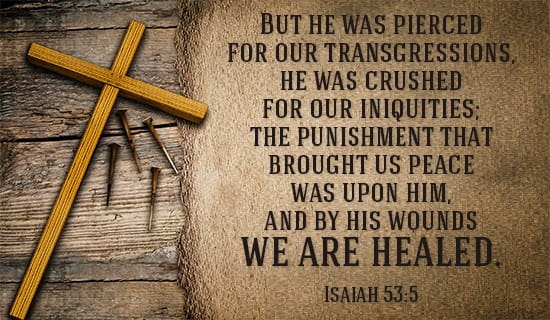 Image result for isaiah 53:5