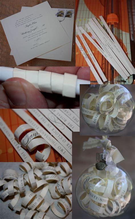 25  unique Wedding invitation ornament ideas on Pinterest