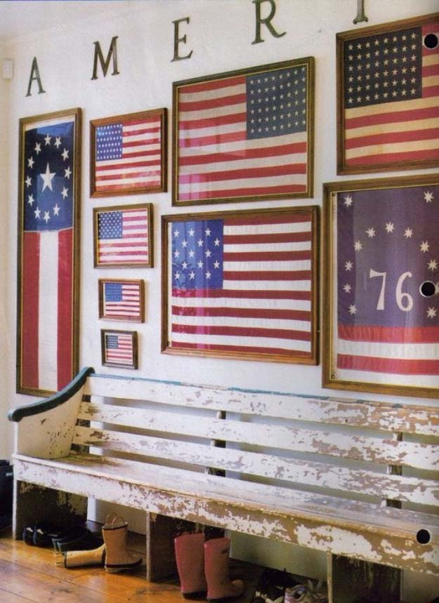 American Flag Inspired DIY Projects to Show Your Patriotic Side