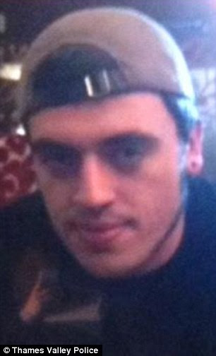 Detectives are looking for 6ft-tall Jed Allen, 21, following the murders of a man, woman and six-year-old girl