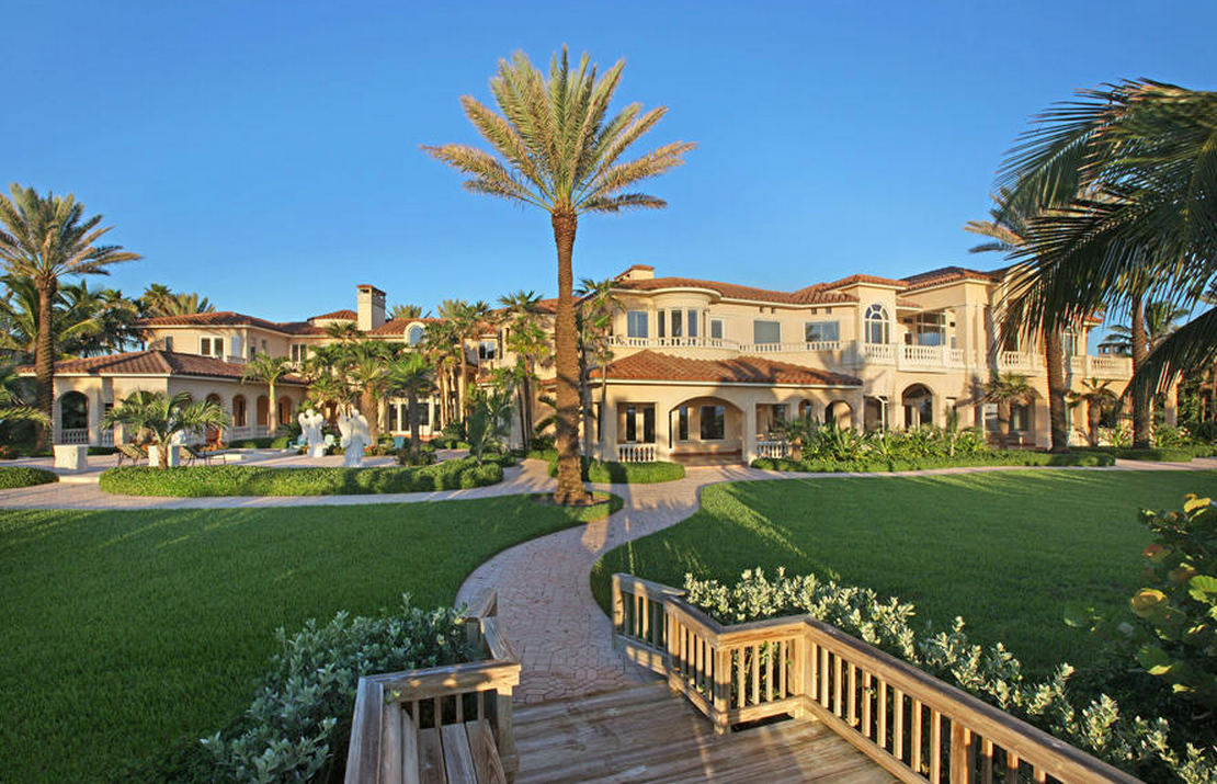 A Look At 3 Lavish Waterfront Mansions For Sale In Stuart, FL  Homes of the Rich
