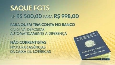 Bolsonaro sanciona nova lei do FGTS; limite do saque imediato passa a ser R$ 998