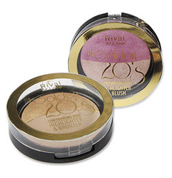 "Rival de Loop ""The Golden 20's"" Bronzer + Blush"