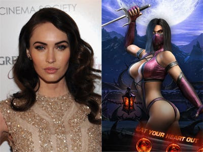 "Megan Fox – ""Mortal Kombat"""
