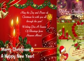 123 Greetings Cards For Christmas New Year Greeting Card Examples