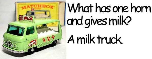 牛奶車 milk truck