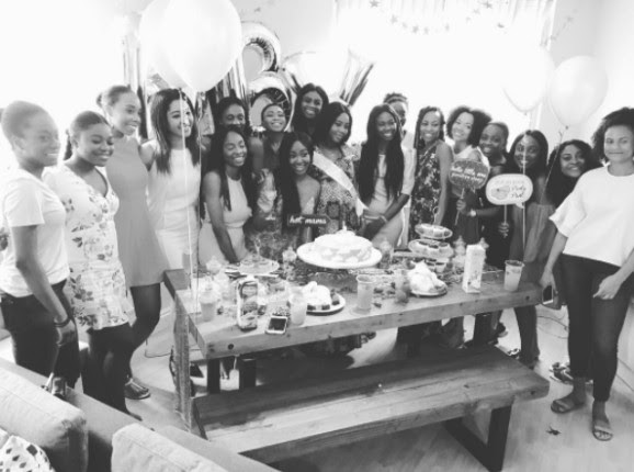 FFK's Daughter, Temi Randle's Baby Shower (Photos)
