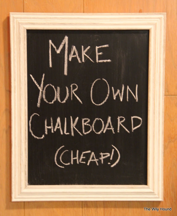 Decorative Chalkboard for Kitchen